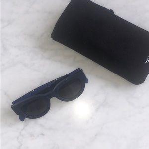Blue auth Celine sunglasses